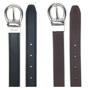 Fossil Reversible Leather Belt / waist 28-33